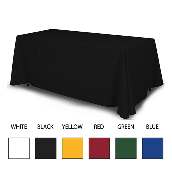 Blank Table Covers (Assorted Colors)