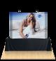 Promo Table Top Fabric Display