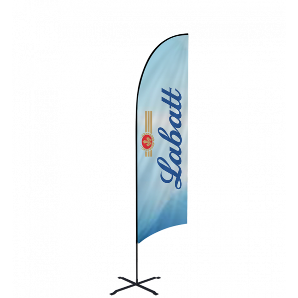Trade Show Concave Flag