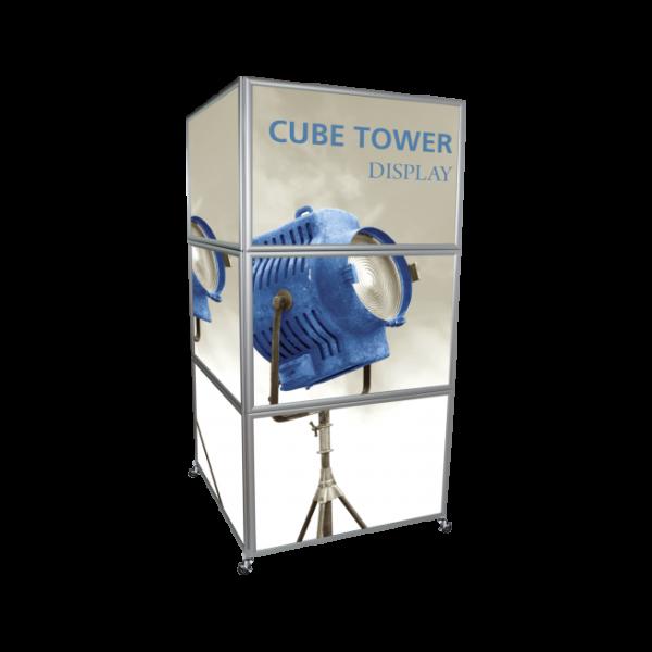 Cube Tower Display - Black