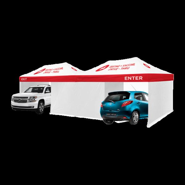 Drive-Thru Medical Tent