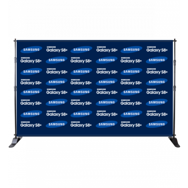 Step and Repeat Backdrop – 10′ W x 8′ H